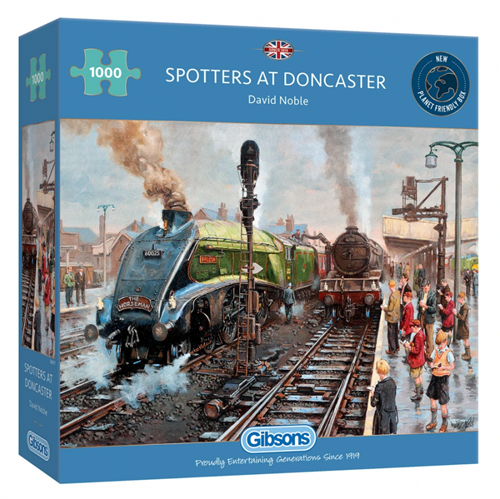 Spotters at Doncaster Puzzel (1000 stukjes)