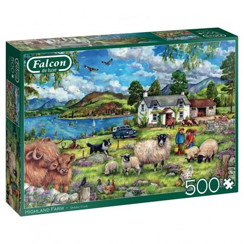 Falcon - Highland Farm Puzzel (500 stukjes)
