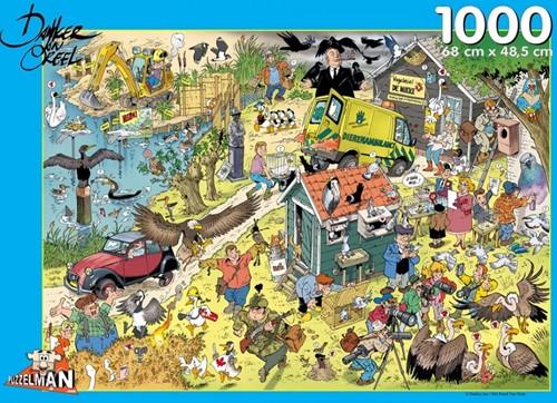 Vogels - Danker Jan Puzzel (1000 stukjes)