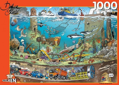 Onder Water - Danker Jan Puzzel (1000 stukjes)
