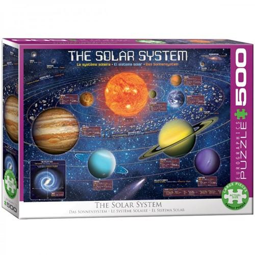 Solar System Puzzel (500 XL stukjes)