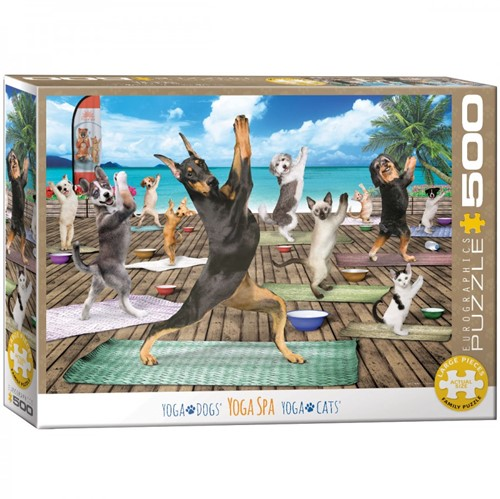 Yoga Spa Puzzel (500 XL stukjes)