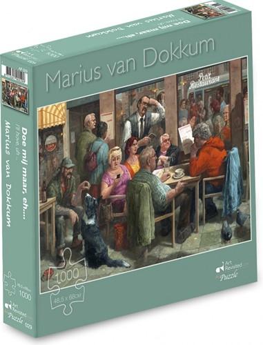 Marius van Dokkum - Doe mij maar, eh.... Puzzel (1000 stukjes)