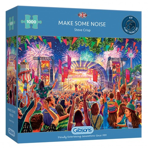 Make Some Noise Puzzel (1000 stukjes)
