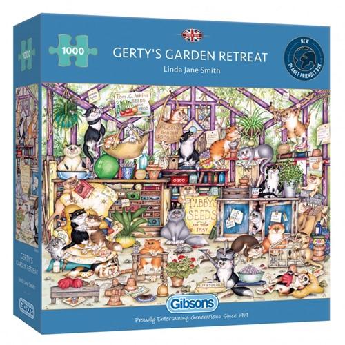 Gerty's Garden Retreat Puzzel (1000 stukjes)