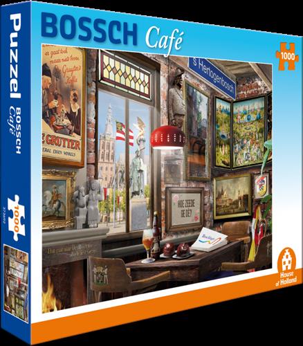 Bossch Café Puzzel (1000 stukjes)