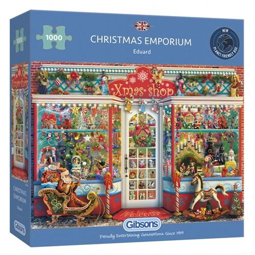 Christmas Emporium Puzzel (1000 stukjes)