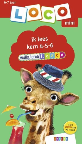 Loco Mini - Veilig Leren Lezen - Ik Lees Kern 4-5-6