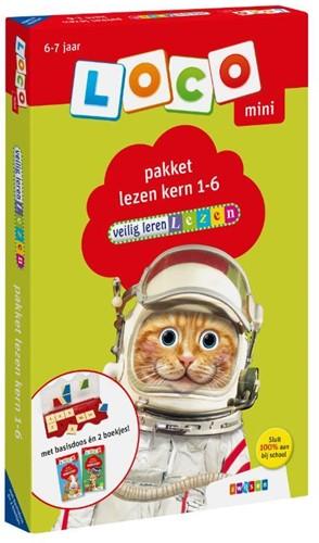 Loco Mini - Veilig Leren Lezen - Pakket Lezen Kern 1-6