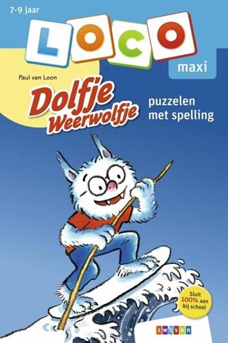 Loco Maxi - Dolfje Weerwolfje - Puzzelen met Spelling