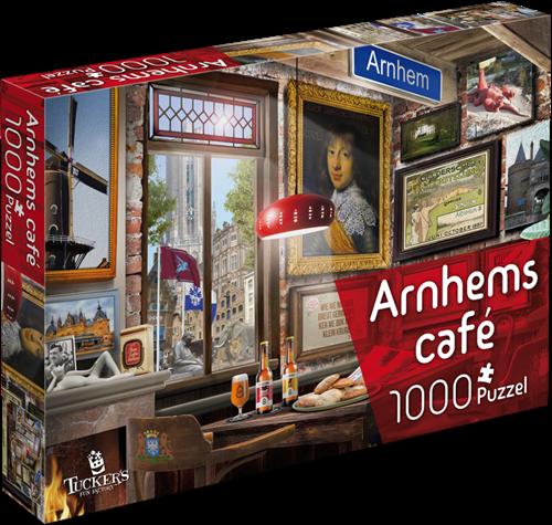 Arnhems Café Puzzel (1000 stukjes)