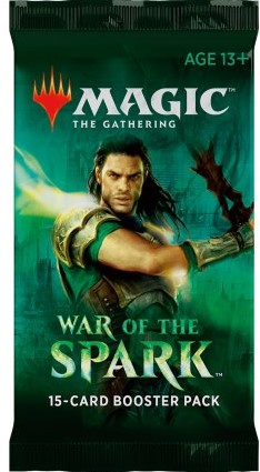 Magic The Gathering - War of the Spark Boosterpack