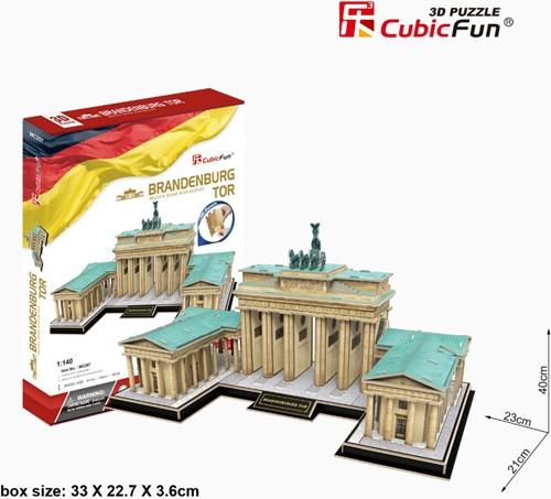 3D Puzzel - The Brandenburg Gate (150 stukjes)-1