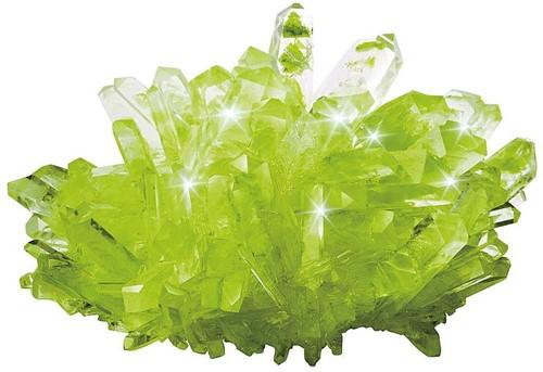 Mini Lab Kristallen (Groen)