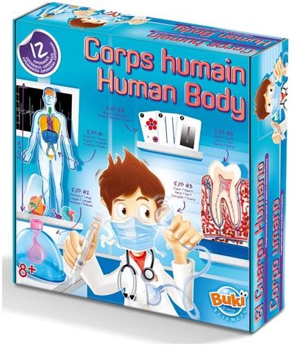 Buki - Experimenten met het Menselijk Lichaam