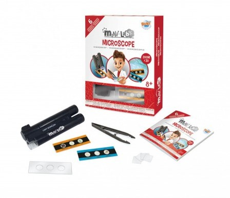 Buki - Mini Lab Microscoop (6 experimenten)
