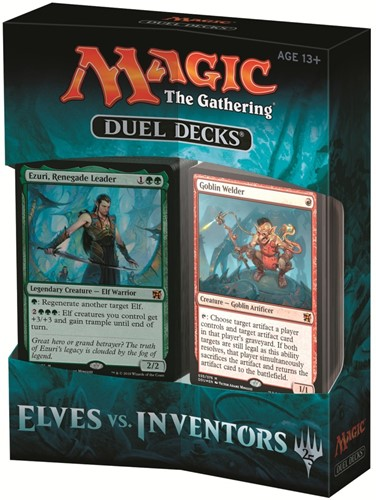 Magic the Gathering - Elves vs Inventors Duel Decks