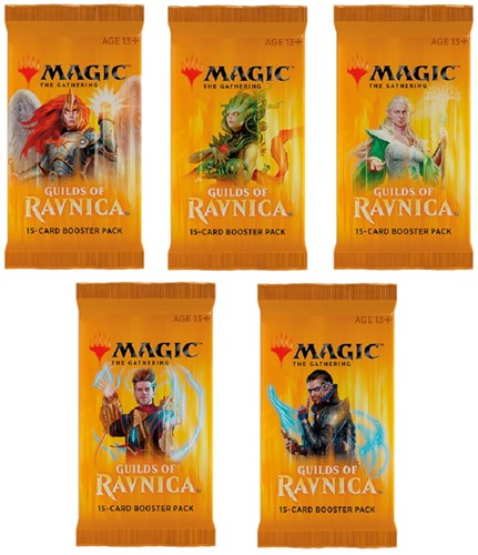 Magic The Gathering - Guilds of Ravnica Boosterbox-2