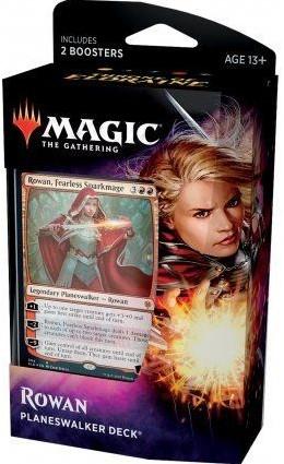 Magic The Gathering - Throne of Eldraine Rowan Planeswalker Deck