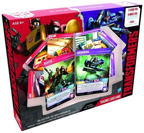 Transformers - Blaster vs Soundwave Deck