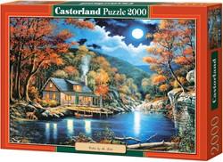 Cabin By The Lake Puzzel (2000 stukjes)