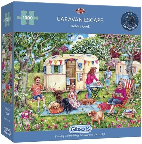 Caravan Escapes Puzzel (1000 stukjes)