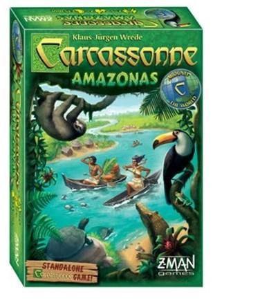 Carcassonne - Amazonas (Engels)-1
