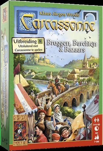 Carcassonne - Bruggen, Burchten en Bazaars