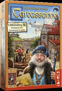 999 Games bordspel Carcassonne: Burgemeesters en Abdijen