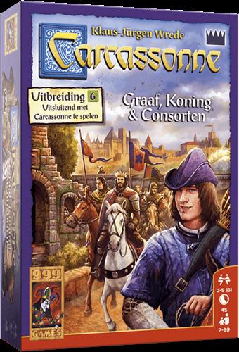 Carcassonne - Graaf, Koning en Consorten