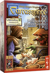 Carcassonne - Kooplieden & Bouwmeesters