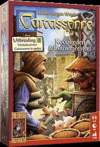 999 Games bordspel Carcassonne: Kooplieden & Bouwmeesters