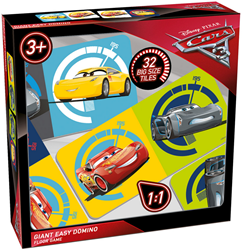 Cars 3 - Giant Easy Domino