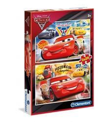 Cars 3 - 2 in 1 Puzzel (20 stukjes)