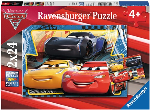 Disney Cars 3 - Lightning, Cruz en Jackson (2 x 24)-1
