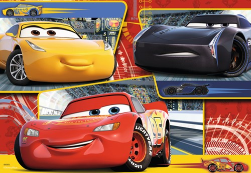 Disney Cars 3 - Lightning, Cruz en Jackson (2 x 24)-2