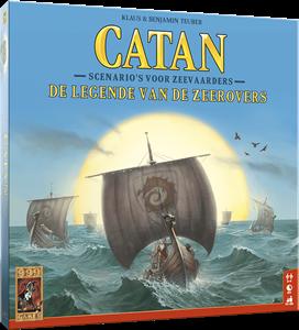 999 Games bordspel Catan: De legende van de zeerovers
