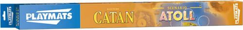 Speelmat Catan Steden & Ridders - Scenario Atoll