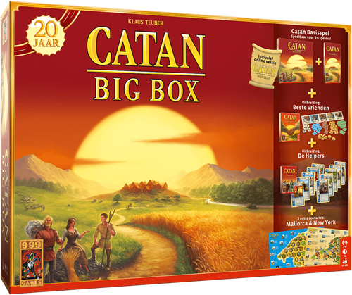 Catan Big Box - Jubileumeditie