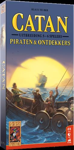 Catan - Piraten & Ontdekkers 5/6 spelers