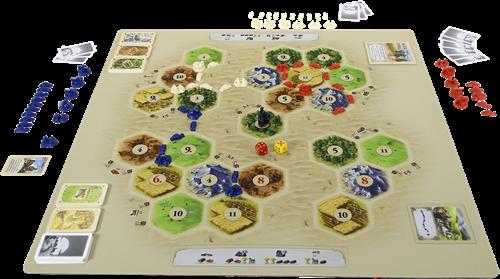Speelmat Catan Basisspel - Scenario Desert-3