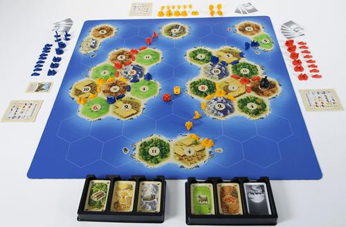 Speelmat Catan Zeevaarders - Scenario Islands