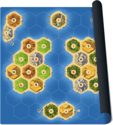 Speelmat Catan Zeevaarders - Scenario Islands