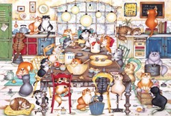 Cat's Cookie Club Puzzel (250 XL)