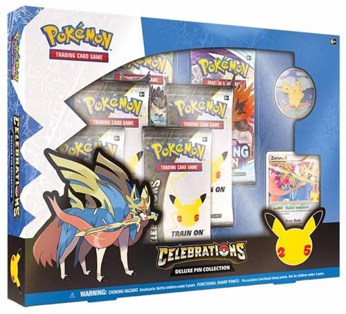 Pokemon - Celebrations Deluxe Pin Collection (Max. 1 per klant)
