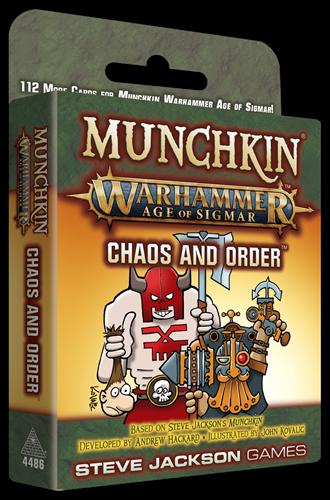 Munchkin Warhammer Age of Sigmar Chaos and Order