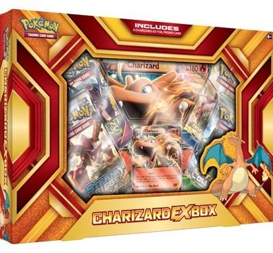 Pokemon Charizard-EX Fire Blast box