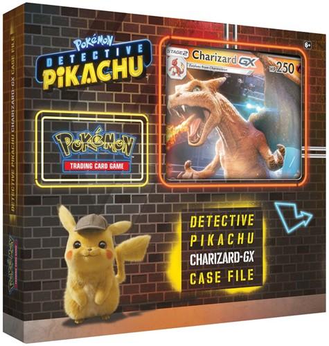 Pokemon Detective Pikachu GX Box Charizard