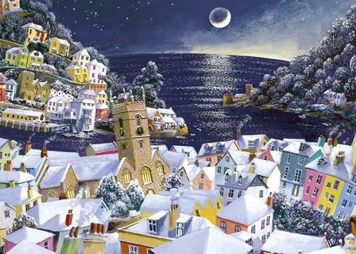 Christmas Moon Puzzel (1000 stukjes)
