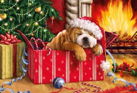 Christmas Snooze Puzzel (150 stukjes)